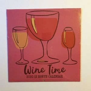 WINE TIME 2020 - 12 MONTH CALENDAR